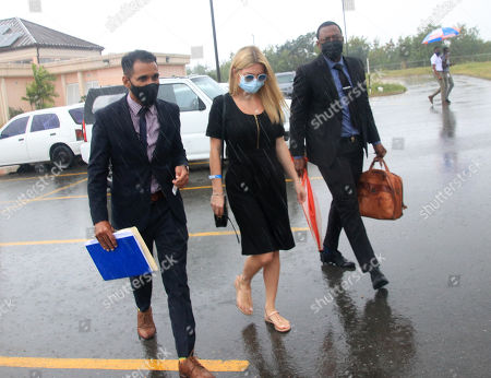 Editorial image of Zara Holland at District D Magistrates Court, Barbados - 06 Jan 2021
