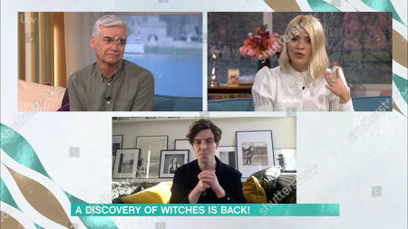 Phillip Schofield, Holly Willoughby and Tom Hughes