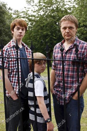 Tom Kane, Shaun Dooley and Jack Scanlon.