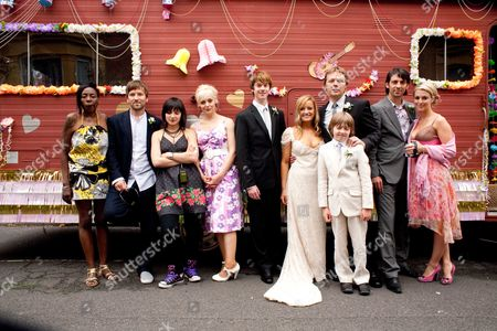Leila Mimmack as Gina,Amanda Abbingtion as Babs, Tom Kane as Harry, Lucy Davis as Lillie, Shaun Dooley as Eddie, Jack Scanlon as Joe, Ralf Little as Clint and Miranda Raison as Abbey.