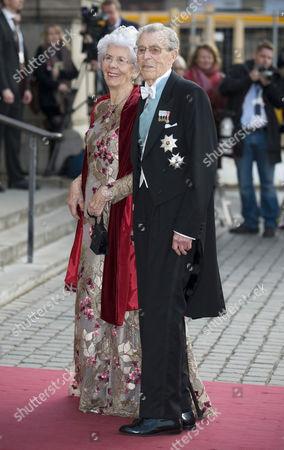 Carl Johan Bernadotte with wife Gunnila