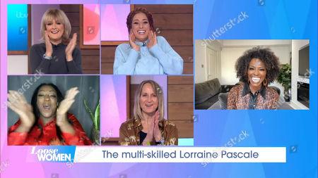 Jane Moore, Stacey Solomon, Judi Love, Carol McGiffin and Lorraine Pascale
