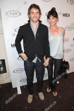 Stock Photo of James Marsden and Lisa Linde