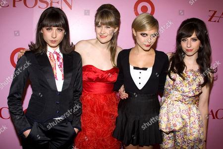 "The Like - Laena Geronimo, Tennessee Thomas, Elizabeth ""Z"" Berg and Annie Monroe"