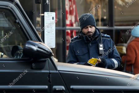 Exclusive - While they were inside they got a parking ticket.