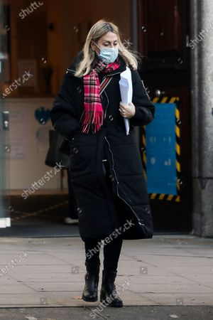 Editorial picture of Exclusive - Nicole Appleton and Stephen Haines out and about, Hampsted, London, UK - 07 Jan 2021