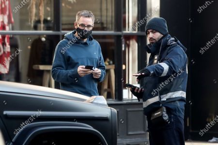 Editorial image of Exclusive - Nicole Appleton and Stephen Haines out and about, Hampsted, London, UK - 07 Jan 2021