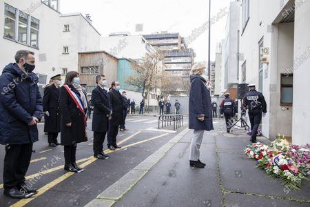 Editorial image of Sixth anniversary of Charlie Hebdo attack, Paris, France - 07 Jan 2021
