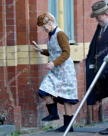 Editorial photo of BBC 'Ridley Road' filming, Manchester, UK - 17 Dec 2020