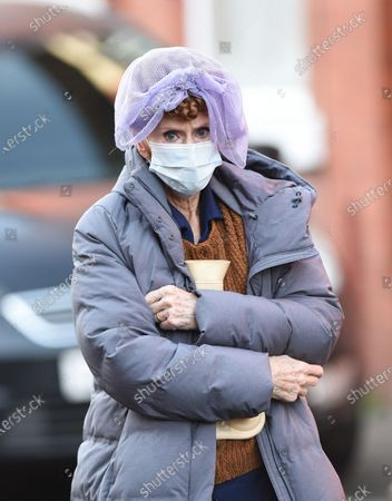 Editorial image of BBC 'Ridley Road' filming, Manchester, UK - 17 Dec 2020