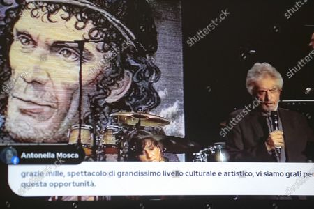 """Live streaming concert by Nicola Piovani Tour """"Streaming is Dangerous"""". Tales of music, theater, mythology, the myth of Ulysses alternating new and old passages with images and words."""