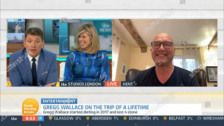 Stock Picture of Ben Shephard, Kate Garraway and Gregg Wallace