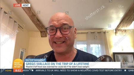 Editorial image of 'Good Morning Britain' TV Show, London, UK - 08 Jan 2021