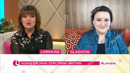 Lorraine Kelly and Susan Calman