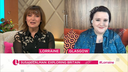 Stock Photo of Lorraine Kelly and Susan Calman