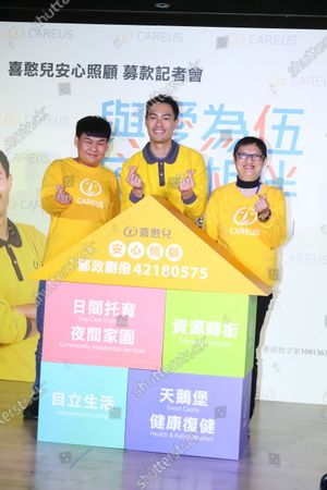 Editorial picture of Mentally handicapped charity event, Taipei, Taiwan, China - 07 Jan 2021