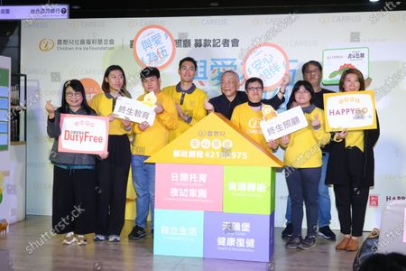 Editorial image of Mentally handicapped charity event, Taipei, Taiwan, China - 07 Jan 2021