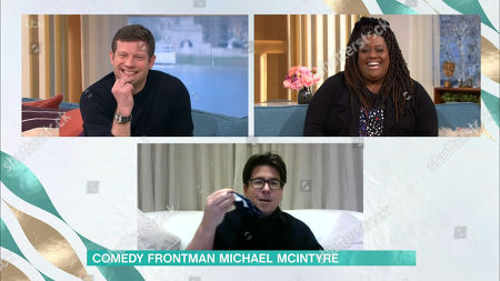 Dermot O'Leary, Alison Hammond and Michael McIntyre