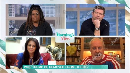 Alison Hammond, Dermot O'Leary, Beverley Turner and Gyles Brandreth