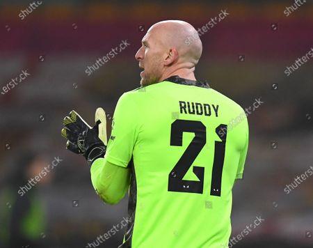 John Ruddy goalkeeper of Wolverhampton Wanderers
