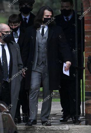 Editorial photo of Funeral of Barbara Windsor, Golders Green Crematorium, London, UK - 08 Jan 2021