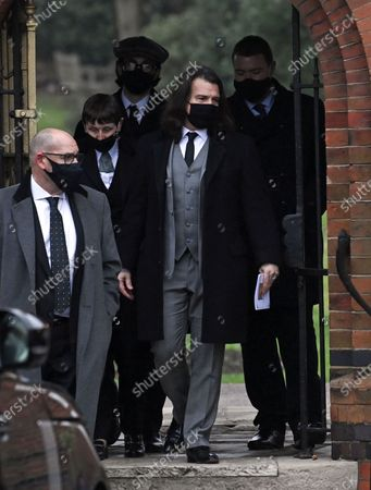 Editorial image of Funeral of Barbara Windsor, Golders Green Crematorium, London, UK - 08 Jan 2021