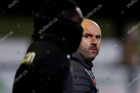 Marine FC manager Neil Young