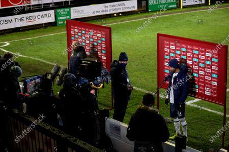 Editorial photo of Marine v Tottenham Hotspur, Emirates FA Cup, Third Round, Football, Rossett Park, Crosby, UK - 10 Jan 2021