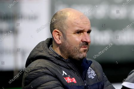 Stock Image of Marine FC manager Neil Young