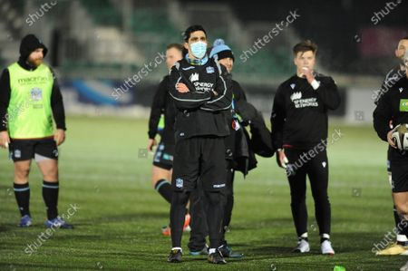 Stock Photo of Kelly Brown - Glasgow Warriors assistant coach after the game was cancelled due to a frozen pitch.