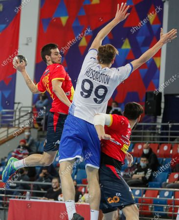 Editorial image of Russia vs Spain, Moscow, Russian Federation - 08 Jan 2021