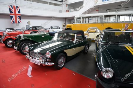 Editorial image of Car exhibition in Poznan, Poland - 08 Jan 2021