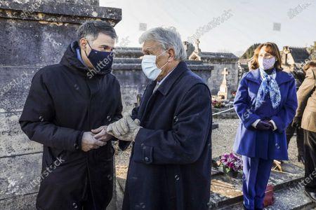 Olivier Faure, Gilbert Mitterrand, Segolene Royal