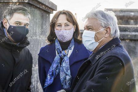 Olivier Faure, Segolene Royal, Gilbert Mitterrand