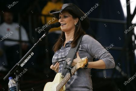 Terri Clark performs during Country Thunder in Twin Lakes, WI.