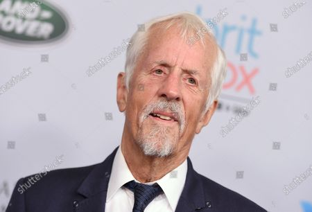 """Michael Apted arrives at the BAFTA Los Angeles Britannia Awards on Oct. 25, 2019, in Beverly Hills, Calif. Apted, the acclaimed British director of the """"Up"""" documentaries series and films as diverse as the Loretta Lynn biopic """"Coal Miner's Daughter"""" and the James Bond film """"The World is Not Enough"""" has died. A representative for the Directors Guild of America said his family informed the organization that he passed . He was 79"""