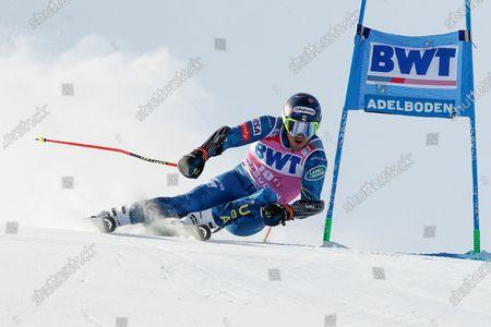 Editorial image of Alpine Skiing World Cup, Adelboden, Switzerland - 09 Jan 2021