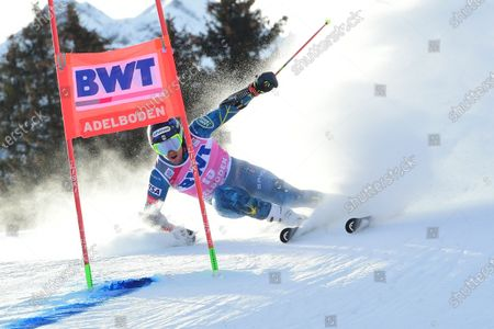 Editorial photo of Alpine Skiing World Cup, Adelboden, Switzerland - 09 Jan 2021
