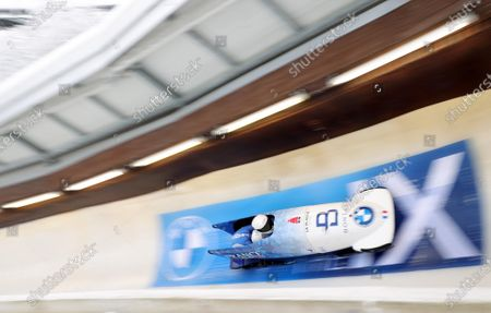 Editorial image of Bobsleigh World Cup in Winterberg, Germany - 09 Jan 2021