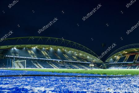 Editorial picture of Huddersfield Town v Plymouth Argyle, Emirates FA Cup Third Round, Football, John Smith's Stadium, Huddersfield, UK - 09 Jan 2o21