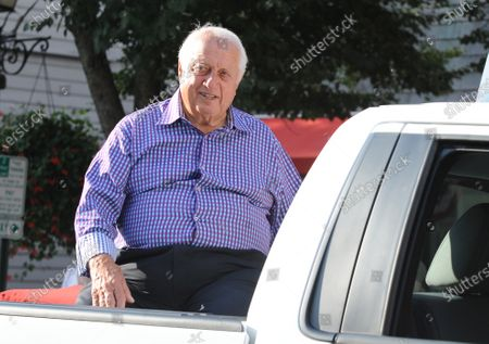 New York, NY-July 28:Tommy Lasorda attends the National Baseball Hall of Fame weekend on July 28, 2013 in Cooperstown, New York.