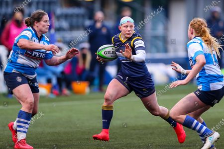 Stock Picture of Heather Fisher of Worcester Warriors Women