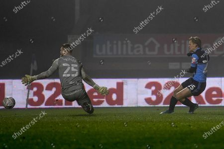 Editorial photo of Wycombe Wanderers v Preston North End, FA Cup - 09 Jan 2021