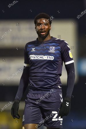 Southend United defender Richard Taylor during the EFL Sky Bet League 2 match between Southend United and Barrow at Roots Hall, Southend