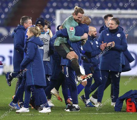 Editorial image of FC Schalke 04 v TSG Hoffenheim, Gelsenkirchen, Germany - 09 Jan 2021