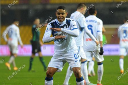 Happiness of Luis Muriel (Atalanta Bergamasca Calcio)