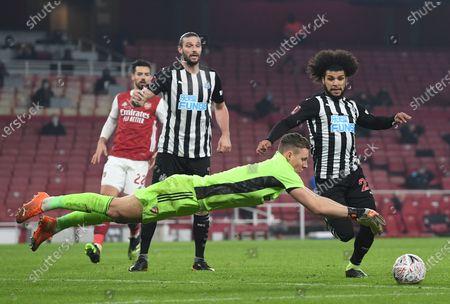 Editorial photo of Arsenal vs Newcastle United, London, United Kingdom - 09 Jan 2021
