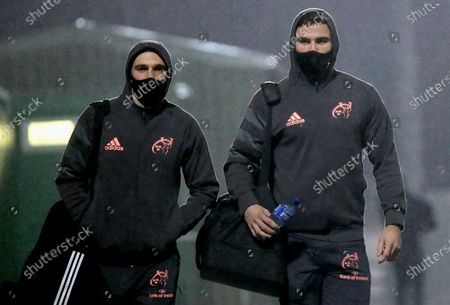 Connacht vs Munster. Munster's Nick McCarthy and Shane Daly