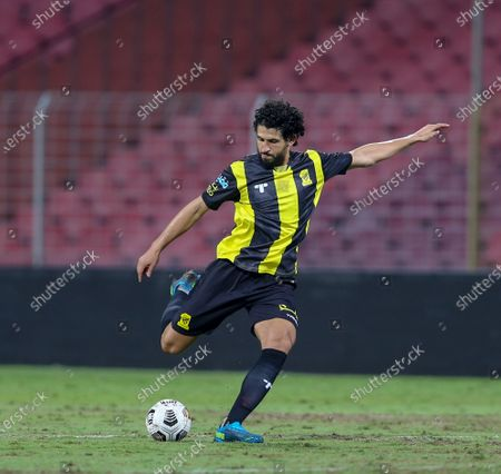 Stock Picture of Al-Ittihad player Ahmed Hegazi in action during the Saudi Professional League soccer match between Al-Ittihad and Damac at King Abdulaziz Sports City Stadium, Mecca, Saudi Arabia, 09 January 2021.