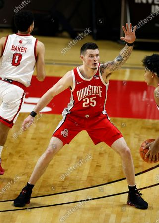 Editorial picture of Ohio St Rutgers Basketball, Piscataway, United States - 09 Jan 2021